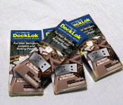 becoma a dealer decklok deck bracket system brochures