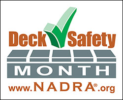 nadra may is deck safety month