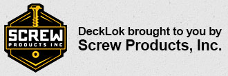 decklok brought to you by screw products inc
