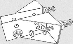 order decklok deck bracket - 2 bracket install